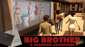 Big Brother / Большой Брат [v0.8.0.005 + Shopping Adventure Mod v.0.1 + Save] (2017/ENG/RUS)