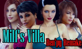 Milf's Villa Ren'py Remake [Final] (2018/RUS/ENG)