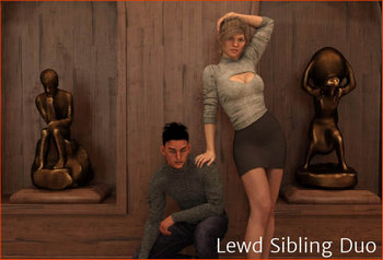 Lewd Sibling Duo [Update 8.1] (2019/ENG)