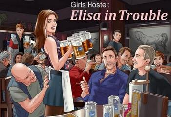 Girls Hostel: Elisa in Trouble [v.1.0.0A] (2019/ENG)