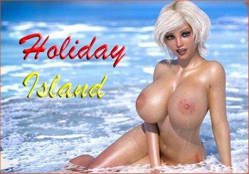 Holiday Island [v.0.1.9.1 + Cheats] (2019/RUS)