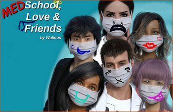 Medschool, Love and Friends [v.0.5] (2020/RUS/ENG)